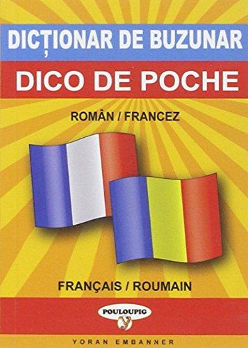 9782914855723: dico de poche bilingue roumain-français / français-roumain
