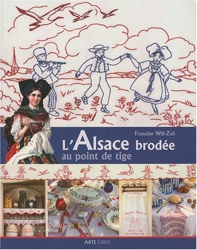 9782914856676: Alsace Brodee au Point de Tige (l')