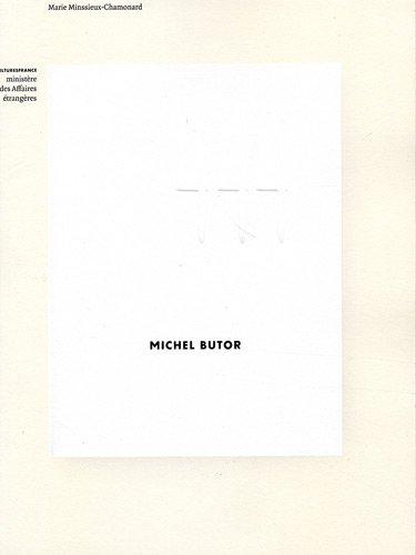 MICHEL BUTOR: MINSSIEUX-CHAMONARD, MARIE