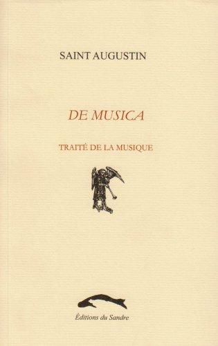 De musica : traité de la musique Saint Augustin