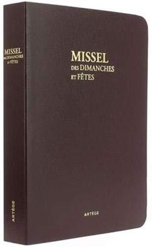 Missel Traditionnel de Voyage des Dimanches et Fetes - Missel de 1962 Latin-Français (...