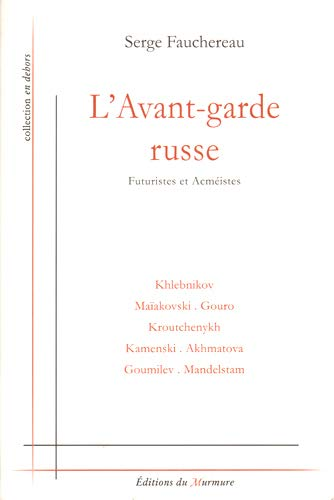 9782915099072: L'avant-garde russe (French Edition)