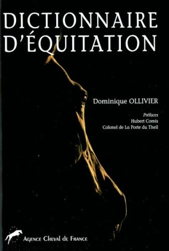 9782915116038: Dictionnaire d'�quitation