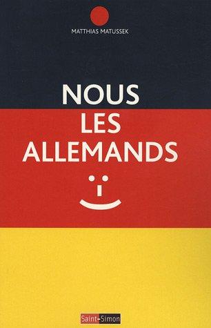 9782915134308: Nous les Allemands (French Edition)