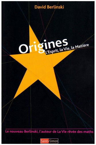 Origines (French Edition) (2915134359) by [???]