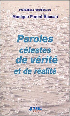 9782915164138: Paroles celestes de verite et de realite (French Edition)