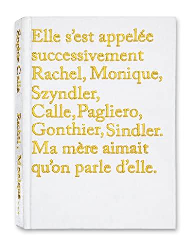 9782915173789: Sophie Calle - Rachel, Monique...