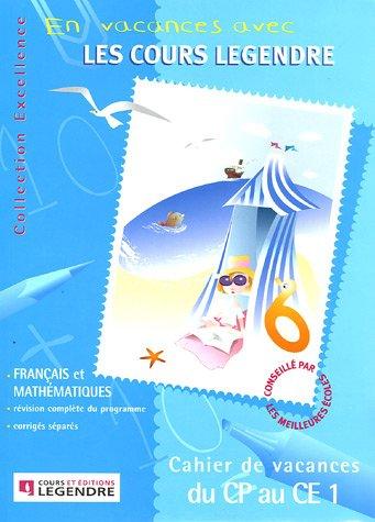 9782915226010: Cahier de vacances du CP au CE1