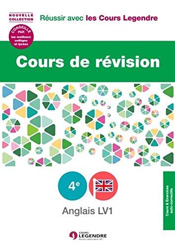9782915226799: Cours de révision Anglais LV1 4e : Leçons et exercices