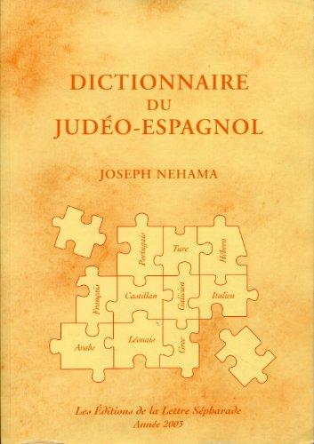 9782915255089: Dictionnaire du judéo-espagnol