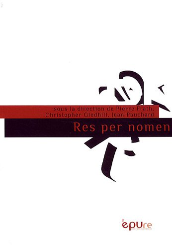 Res per nomen: Pierre Frath; Christopher