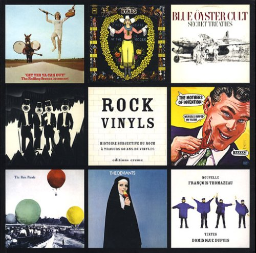 9782915337587: Rock Vinyls : Histoire subjective du Rock à travers 50 ans de vinyles