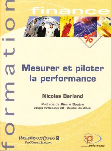 9782915353044: Mesurer et piloter la performance