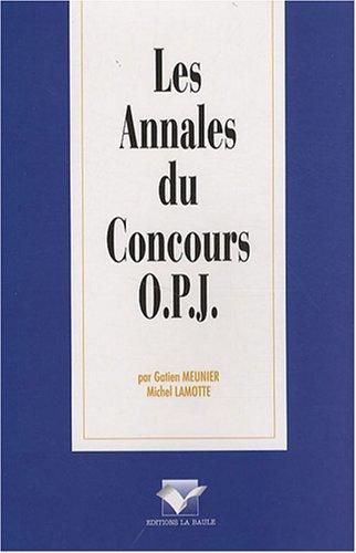 9782915360783: Les Annales du Concours OPJ