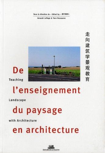 De l'enseignement du paysage en architecture (French Edition): Yann Nussaume