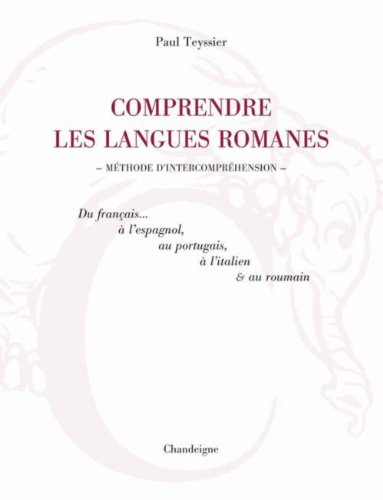 comprendre les langues romanes: Collectif