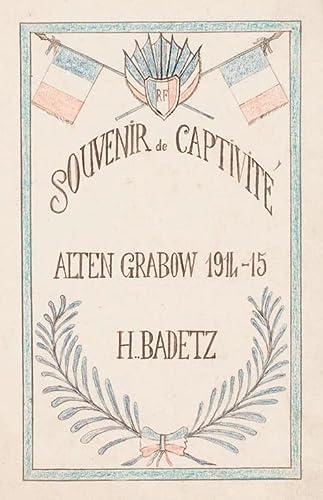 9782915542677: Souvenirs de captivit� : Alten Grabow, 1914-15