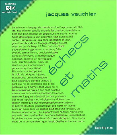 9782915557015: Echecs et maths (French Edition)
