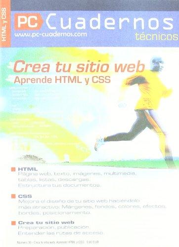9782915605433: CREA TU SITIO WEB (French Edition)