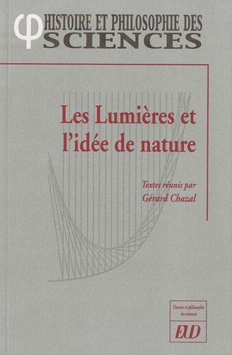 Les Lumières et l'idée de nature: Collectif
