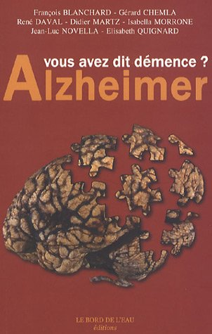 9782915651263: Alzheimer (French Edition)
