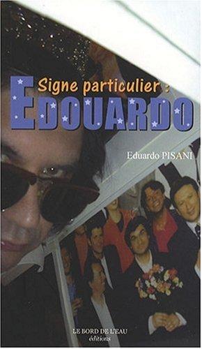 9782915651867: Signe particulier Edouardo