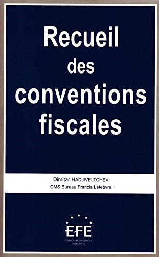 Recueil des conventions fiscales Hadjiveltchev, Dimitar