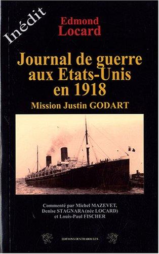 Journal de guerre des Etats-Unis en 1918: Edmond Locard