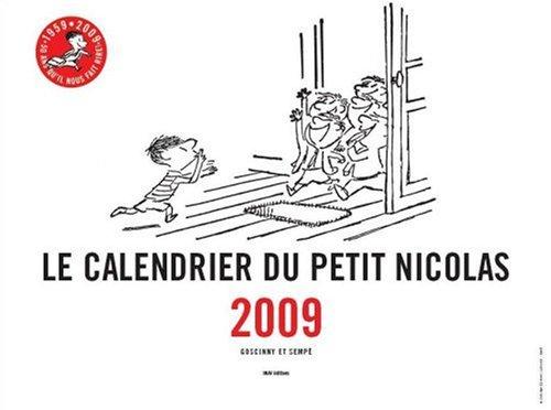 9782915732207: Le Calendrier du Petit Nicolas 2009