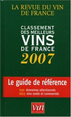 9782915736052: Classement des meilleurs vins de France