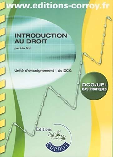 9782915756050: Introduction au droit : DCG/UE1 Cas pratiques, Enoncé