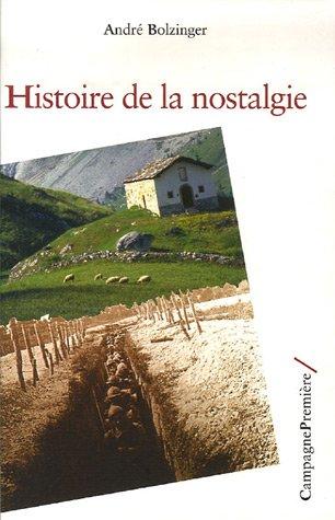 9782915789270: Histoire de la nostalgie (Recherche)