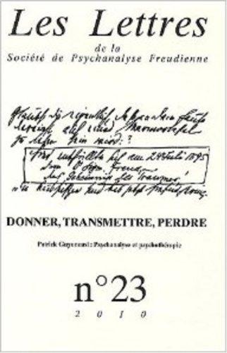 Les lettres de la SPF N°23: Collectif