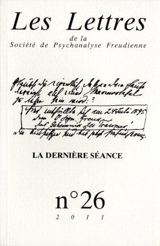 Lettres de la SPF (Les), no 26: Collectif