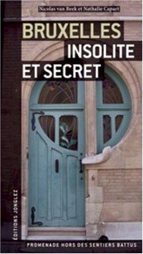 9782915807073: Bruxelles insolite et secret