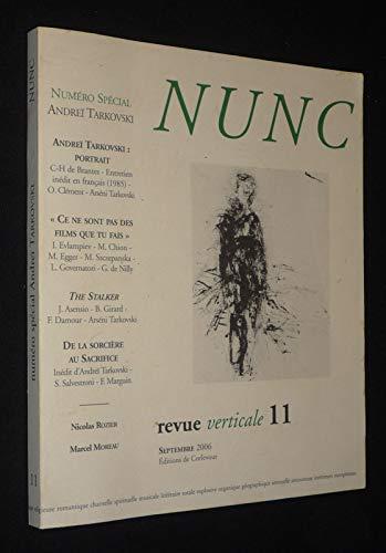 9782915831115: Nunc n°11 Dossier Andreï Tarkovski