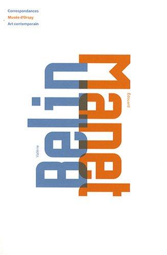 9782915978421: Valérie Belin, Edouard Manet (Correspondances Art Contemporain)