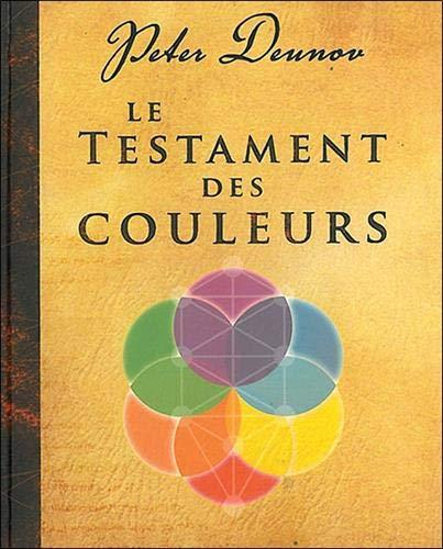 9782915985498: Le Testament des Couleurs