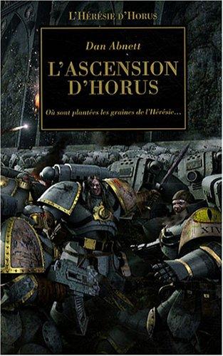 9782915989724: L'Hérésie d'Horus, Tome 1 : L'ascension d'Horus (French Edition)