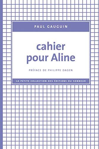 Cahier pour Aline (9782916136219) by Paul Gauguin