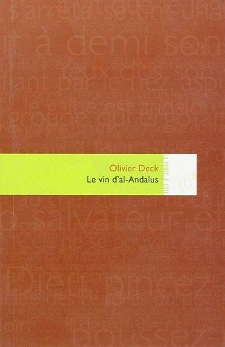 9782916159287: Le Vin d'al-Andalus