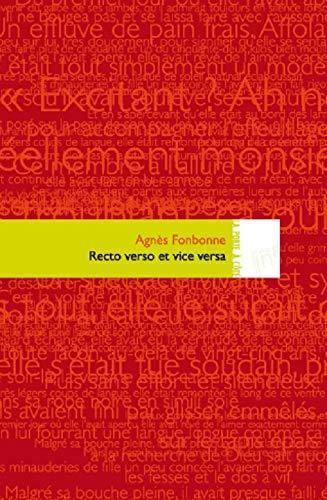 9782916159911: Recto-verso et vice-versa