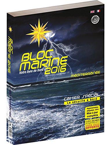 9782916175706: Bloc Marine 2016 - Méditerranée