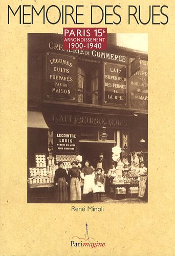 9782916195162: Paris 15e arrondissement : 1900-1940
