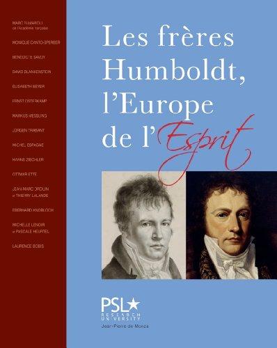 9782916231303: Les frères Humboldt