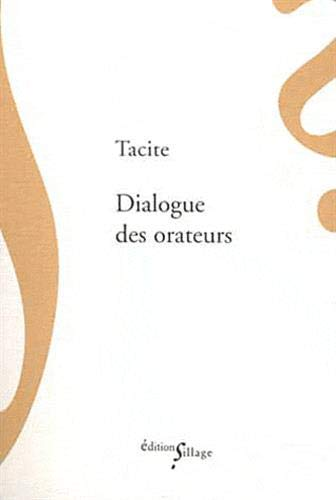 9782916266879: Dialogue des orateurs