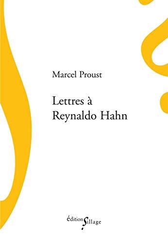 9782916266893: Lettres à Reynaldo Hahn