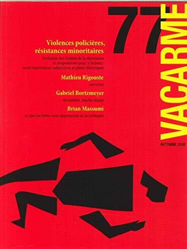9782916278049: Vacarme N 77 Violences Policieres Octobre 2016