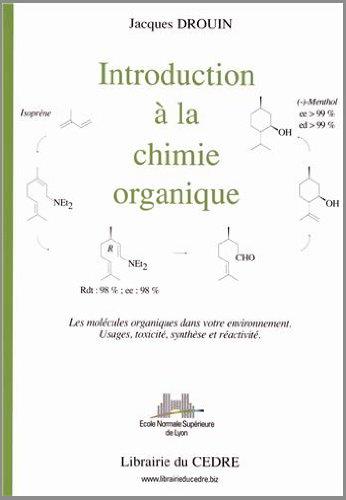 9782916346007: Introduction à la chimie organique