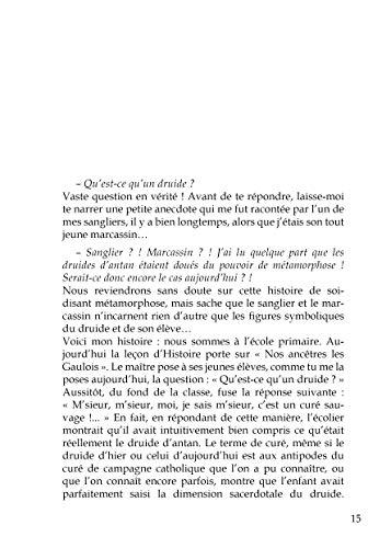 9782916359557: Chemins de Folle Pensee, Entretiens avec un Druide